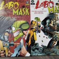 Cómics: LOBO VS MASK COMPLETA 2 NUMEROS DE NORMA. Lote 294054638
