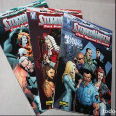 Cómics: STORMWATCH (PHD) POST HUMAN DIVISION 1 A 3 (GAGE / MAHNKE / SMITH) NORMA, 2008. (OFERTA). Lote 294437358