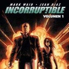 Cómics: INCORRUPTIBLE VOLUMEN 1 2 Y 3 - NORMA ED. MARK WAID & JEAN DIAZ, DOMINGUEZ, MARCIO TAKARA. Lote 294438478