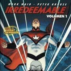 Cómics: IRREDEEMABLE VOLUMEN 1 2 3 4 5 6 Y 7 - NORMA - MARK WAID & PETER KRAUSE. Lote 294458308