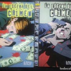 Cómics: LA ESCENA DEL CRIMEN COMPLETA. Lote 294505748