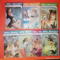 Cómics: COLECCION MILO MANARA. LOTE DE SIETE COMICS. Nº 1,2,5,6,7,8 Y10. RUSTICA. NORMA. MUY BUEN ESTADO.. Lote 294575453