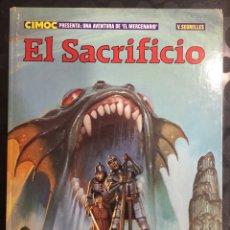 Cómics: COLECCIÓN CIMOC N.12 EL MERCENARIO : EL SACRIFICIO DE VICENTE SEGRELLES ( 1982/1985 ). Lote 295020073