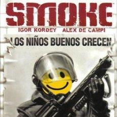 Cómics: SMOKE. NORMA EDITORIAL. 152 PAGINAS. COLECCION EL DIA DESPUES.. Lote 295445913