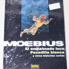 Cómics: MOEBIUS :| EL EMPALMADO LOCO. PESADILLA. Y OTRAS HISTORIAS (PRECINTADO EN OFERTA). Lote 295489893