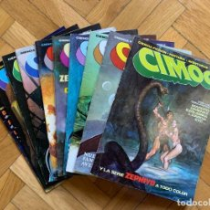 Cómics: CIMOC 1ª ÉPOCA COMPLETA 10 EJEMPLARES - SAN ROMÁN - EXCELENTÍSIMO ESTADO. Lote 295498218