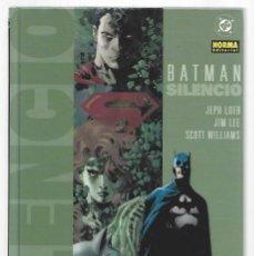 Cómics: BATMAN: SILENCIO, 2005, NORMA, MUY BUEN ESTADO. Lote 295527173