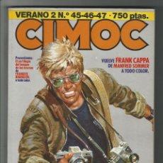Cómics: NORMA. CIMOC. RETAPADO. VERANO 2 Nº 45-46-47.. Lote 295577783