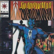 Cómics: SHADOWMAN, Nº 1 AL 4 (COMPLETO), DE JIM SHOOTER Y OTROS. Lote 295713188