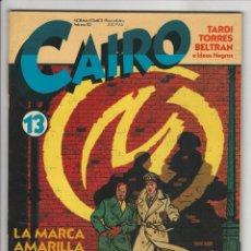 Cómics: NORMA. CAIRO. 13.. Lote 295892583