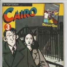 Cómics: NORMA. CAIRO. 3. Lote 295892588