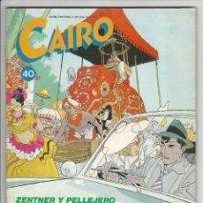 Cómics: NORMA. CAIRO. 40.. Lote 295892618