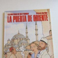 Cómics: LA PUERTA DE ORIENTE LAS AVENTURAS DE MAX FRIDMAN VITTORIO GIARDINO CIMOC NORMA BUEN ESTADO C8. Lote 295978768
