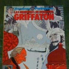 Cómics: LAS MEMORIAS DE MONSIEUR GRIFFATON - ZENTNER, PELLEREJO - NORMA 1990. Lote 296838703