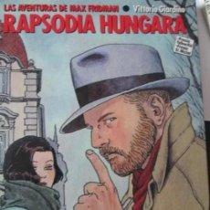 Cómics: RAPSODIA HUNGARA--GIARDINO. Lote 296885438