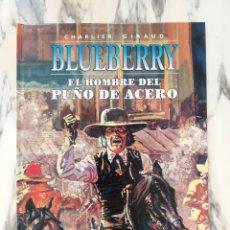 Cómics: BLUEBERRY - EL HOMBRE DEL PUÑO DE ACERO - CHARLIER Y GIRAUD - N°4 - NORMA - 2003. Lote 296945123