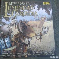 Cómics: MOUSE GUARD. LEYENDAS DE LA GUARDIA. Lote 296947903