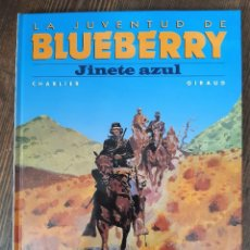 Cómics: LA JUVENTUD DE BLUEBERRY 14 JINETE AZUL (CHARLIER / GIRAUD-MOEBIUS). Lote 297076823