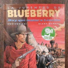 Cómics: LOTE BLUEBERRY : HAY QUE MATAR A LINCOLN + FORT NAVAJO + ANGEL FACE. Lote 297089018