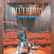 Cómics: BLUEBERRY 15 NARIZ ROTA (CHARLIER / GIRAUD MOEBIUS). Lote 297092198