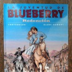 Cómics: LA JUVENTUD DE BLUEBERRY 52 REDENCIÓN (CORTEGGIANI / BLANC-DUMONT). Lote 297094833