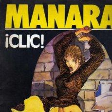 Cómics: MANARA - EL CLIC - BIBLIOTECA TOTEM EXTRA - E. NUEVA FRONTERA - 1984. Lote 26990433