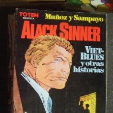 Cómics: ALACK SINNER. MUÑOZ Y SAMPAYO. Lote 27055026