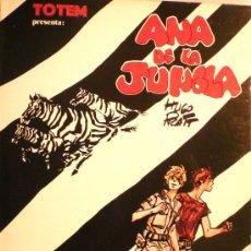 Cómics: ANA DE LA JUNGLA / HUGO PRATT. Lote 26596978