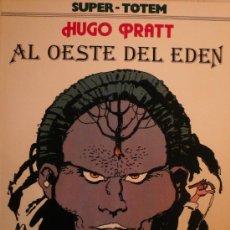 Cómics: HUGO PRATT / AL OESTE DEL EDEN. Lote 26596980