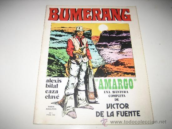 BUMERANG Nº1 (Tebeos y Comics - Nueva Frontera)