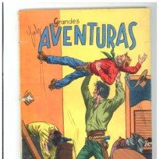 Cómics: GRANDES AVENTURAS - 80 PAGINAS - FORMATO NOVARO - COMO NUEVA - DECADA ´60. Lote 26441594
