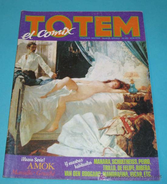 TOTEM Nº 30 (Tebeos y Comics - Nueva Frontera)