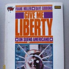 Cómics: GIVE ME LIBERTY- UN SUEÑO AMERICANO. Lote 27312234
