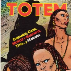 Cómics: TOTEM Nº 49. CON SERGIO TOPPI, MILO MANARA, CAZA, BLANC-DUMONT, ETC. NUEVA FRONTERA.. Lote 27247080