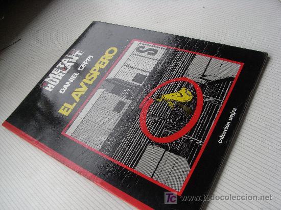 Cómics: EL AVISPERO. DANIEL CEPPI. METAL HURLANT SERIE NEGRA - Foto 2 - 26318393