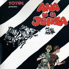 Cómics: COMIC TOTEM BIBLIOTECA ANA DE LA JUNGLA HUGO PRATT. Lote 18169322