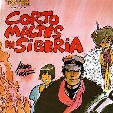 Cómics: COMIC TOTEM BIBLIOTECA CORTO MALTES EN SIBERIA HUGO PRATT. Lote 18169364