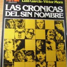 Cómics: LAS CRONICAS DEL SIN NOMBRE- VICTOR MORA - BIBLIOTECA TOTEM Nº 16. Lote 26516030