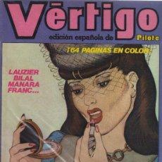 Cómics: VÉRTIGO (EDICIÓN ESPAÑOLA DE PILOTE) - NÚMEROS SUELTOS. Lote 23817483