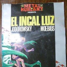 Cómics: METAL HURLANT - EL INCAL LUZ - JODOROWSKY MOEBIUS Nº 12. Lote 26772081