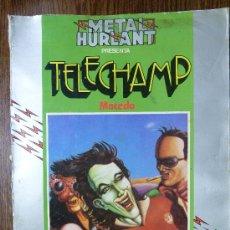 Cómics: METAL HURLANT - TELECHAMP - MACEDO Nº 2. Lote 26772078
