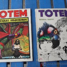 Cómics: TOTEM Nº 10 Y 11 ESPECIAL CREPAX Y ESPECIAL MOEBIUS MADE IN SPAIN. Lote 27454299
