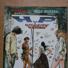 Cómics: CÓMIC TOTEM BIBLIOTECA, H Y P GIUSEPPE BERGMAN. MILO MANARA. 1983.. Lote 27190320