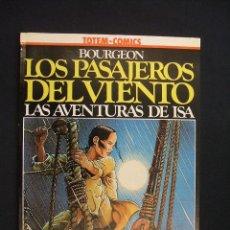 Cómics: LOS PASAJEROS DEL VIENTO - LAS AVENTURAS DE ISA - BOURGEON - COLECCION VERTIGO - NUEVO - SIN LEER - . Lote 28034562