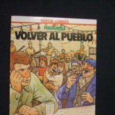Cómics: VOLVER AL PUEBLO - FERRANDEZ - COLECCION VERTIGO - NUEVO - SIN LEER - . Lote 28034662