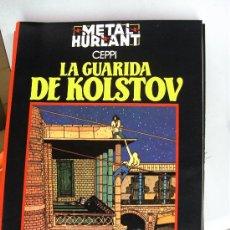 Cómics: LA GUARIDA DE KOLSTOV - CEPPI - COLECCION NEGRA / NUEVA FRONTERA. Lote 28677245