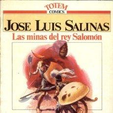Cómics: LAS MINAS DEL REY SALOMÓN POR JOSE LUIS SALINAS . Lote 30790567
