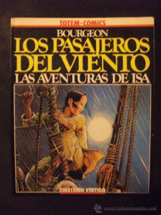 LOS PASAJEROS DEL VIENTO TOTEM COMICS NUEVA FRONTERA (Tebeos y Comics - Nueva Frontera)