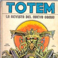 Cómics: TOTEM 3 - DRUILLET, MOEBIUS, CREPAX, HUGO PRATT, BRETECHER... - NUEVA FRONTERA 1977. Lote 50935591