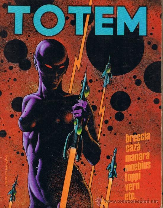 TOTEM - Nº 39 - MANARA - BRECCIA - MOEBIUS - TOPPI - VERN - CAZÁ (Tebeos y Comics - Nueva Frontera)